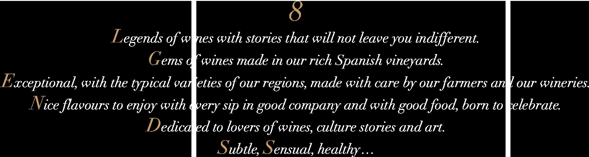 8Lgends - presentacion marca eng