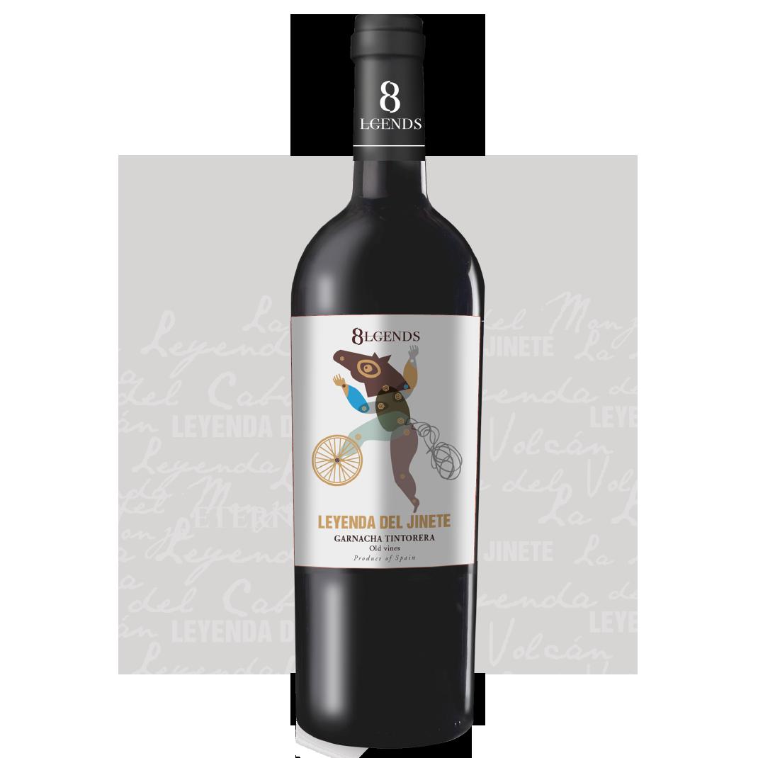 8Lgends - Nuestros Vinos Leyenda del Jinete