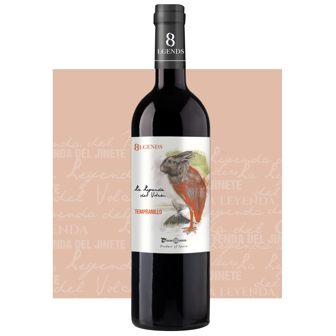 8Lgends - Nuestros Vinos Leyenda del Volcán Tempranillo